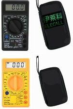 Electrical MULTIMETER DT-830 TYPES B&D WITH Carry Case Test Leads & Battery.
