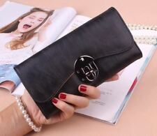 Card Holder Fashion Matte Pu Leather Casual Pu Leather Wallet For Women