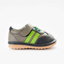 SALE - UK Toddler kids Girls Boys Squeaky PU leather Casual shoes (VIENNA)