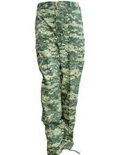 New Mil-Spec BDU Cargo Pants Polyester Rip-Stop 6-Pocket (Digital Camo) - S M XL