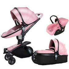 Baby Stroller 3 in 1 High view Folding Baby Carriage Pushchair bassinet&car seat