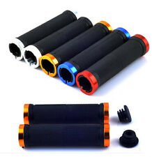 Rubber MTB Mountain Bike Cycling Bicycle Handlebar Grips Cycling Lock-On Ends