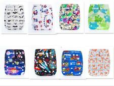 Reusable Waterproof One Size Pocket Cloth Diaper Fit 3-15Kgs & 3-36 Months Baby