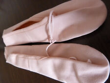 New pink canvas full sole ballet shoes by Katz Dancewear