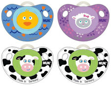New NUK Orthodontic Pacifier Silicone Animal 0-6 Month Baby Shower Gift BPA Free