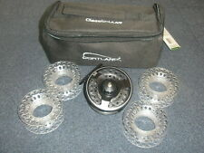 Cortland Classic Cassette Fly Reel + 4 Spare Spools ALL SIZES Fly fishing tackle