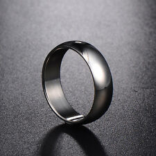 Wedding Promise Womens Mens Stainless Steel Smooth Ring Size 8 9 10 11 12 Lot
