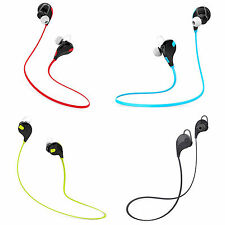 Fashion QCY QY7 Bluetooth Wireless 4.1 Stereo Headphone Sports Earbuds With Mic