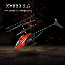 2CH Mini RC Helicopter Toys Remote Control Drone Radio Gyro Kids Toys XY802 HP