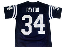 Payton #34 Jackson State Men New Football Jersey Navy Blue Any Size