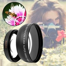 HD 0.45x0.45 Super Wide Angle Lens with Macro Optical Lens Camera Lens Kit AU