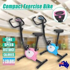 Compact Exercise Bike Fitness Training Home Gym Trainer Cycle Spin Fit Cycling P