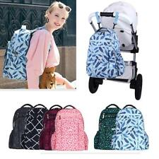 Cute Diaper Backpack Nappy Baby Newborn Shoulder Bags with Stroller Straps