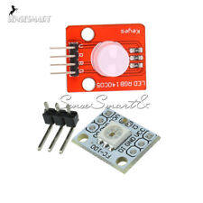 2/5PCS 5V 1-Bit 10MM RGB LED Module Light Emitting Diode WS2812 2811 STM32 M92