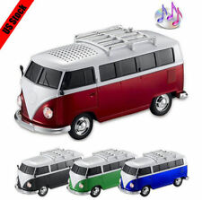 Mini Bus USB Portable Audio Speakers FM Stereo Radio Gifts for Computer Laptop
