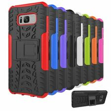 For Samsung Galaxy S8/S8+ Hard Case Protective Hybrid Bumper Armor Stand Cover