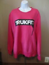 TRUKFIT Womens Pink Pullover Crew Neck Sweatshirt Size 2XL~Very Good Condition!