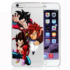 Dragon Ball  Silicone phone Case cover Z DBZ Vegeta Goku Gogeta SS4 For iphone