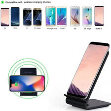 Fordable 3 Coils Qi Wireless Charging Pad for Samsung Galaxy s8 Note 8 LG G6
