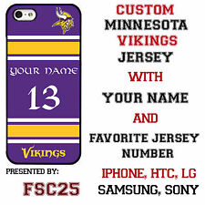Minnesota Vikings NFL Phone Case Cover for iPhone 7 PLUS iPhone 6s iPhone 5 etc.