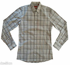 NWT HUGO (Red Label) by Hugo Boss Slim Fit Plaid Sport Shirt