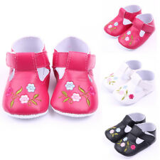 USA Stock Newborn Infant Toddler Baby Boy Girl Soft Sole Crib Shoes Sneaker Gift
