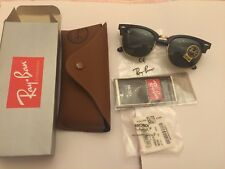 Ray Ban Clubmaster RB3016 Sunglasses Black or Tortoise Frame 51mm - Brand New
