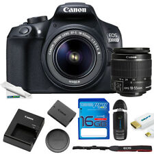 Canon EOS 1300D / Rebel T6 DSLR Camera with 18-55mm Lens + Expo Starter Series