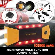 82800mAh Car Jump Starter 4 USB Power Bank Portable Pack Booster Battery Charger