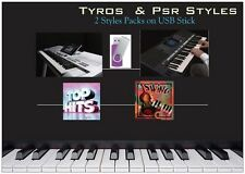 Styles For TYROS & PSR S  USB Stick