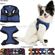 Soft Breathable Dog Harness Pet Vest Rope Dog Chest Strap Leash Collar Leads