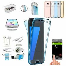 Case Charger Earphones Accessory Bundle For Samsung Galaxy S6 S7 Edge S8+ Note 8