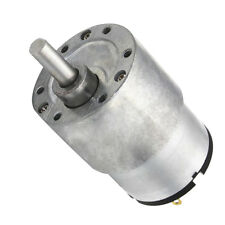 37GB-520 Gearbox Replacement DC Motor 37mm Gear Box Motor 12V 7RPM-960RPM