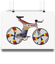 Pinarello Espada indurain bicycle prints illustration campagnolo record