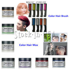 Color Hair Chalk Temporary Dye Soft Pastel Cream Comb/Brush or Color Hair Wax