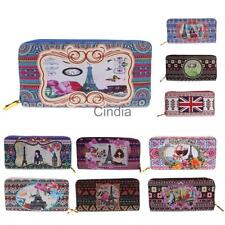 Fashion Lady Women Leather Clutch Wallet Long Card Holder Case Purse Bag