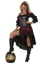 PIRATE WENCH COSTUME SIZE SMALL OR XL (missing corset)