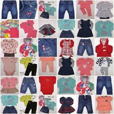 Baby Girl BUILD A BUNDLE Girls Babygrows, Sleepsuits, Outfits, Dresses 6-9 Mths
