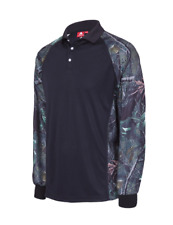 NEW Mens Hunter Camo Long Sleeve Polo