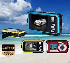 Full HD 1080 Double Screen Waterproof Camera 24MP 16x DV Digital Camcorders IB T