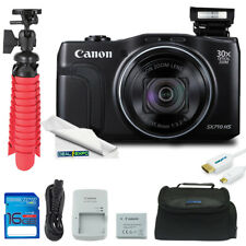 Canon PowerShot SX710 20.3MP Digital Camera (Black) + Expo Advanced Kit