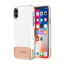 Incipio® iPhone X Case, Edge Chrome Tough Protection Shockproof Hard Shell Cover