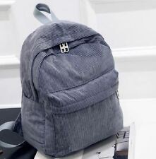 Gray Color Zipper Closure Polyester Material Backpack for Student T294