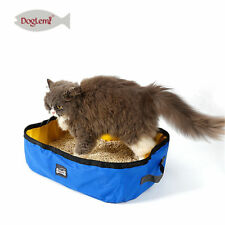 Portable Foldable Cat Litter Box Outdoor Kitty Toilet Seat Travel Pet Litter Pan
