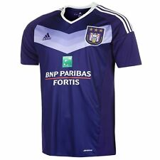 adidas RSC Anderlecht Home Jersey 2016 17 Mens Purple/Wht Football Soccer Shirt