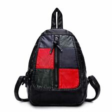 PU Leather Waterproof Small Travel Backpack For Teenager Girl H1119