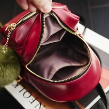 Pu Leather New Polyester Material Small Backpack For Teenager Girl H1155