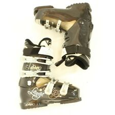 Used Used Lange Exclusive Delight 70 Black Ski Boots Women's Size Ski Boots