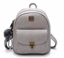 New Fashion Polyester Pu Leather Small Backpack For Teenager Girl H1187