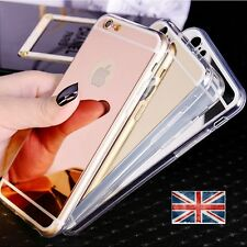 Luxury Ultra Thin Soft Mirror back Case Cover For Apple iPhone 5 6 7 8 PLUS